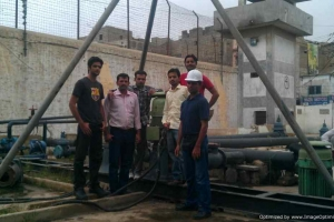 Area Office Training in Factory